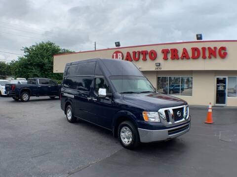 2012 Nissan NV Cargo for sale at LB Auto Trading in Orlando FL