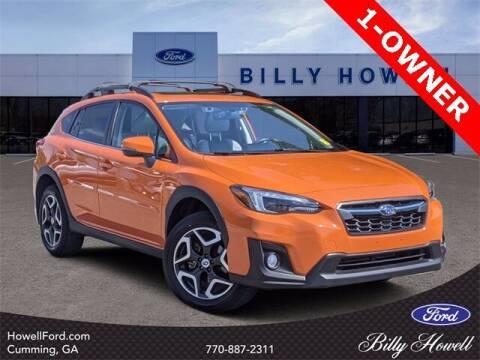 2018 Subaru Crosstrek for sale at BILLY HOWELL FORD LINCOLN in Cumming GA