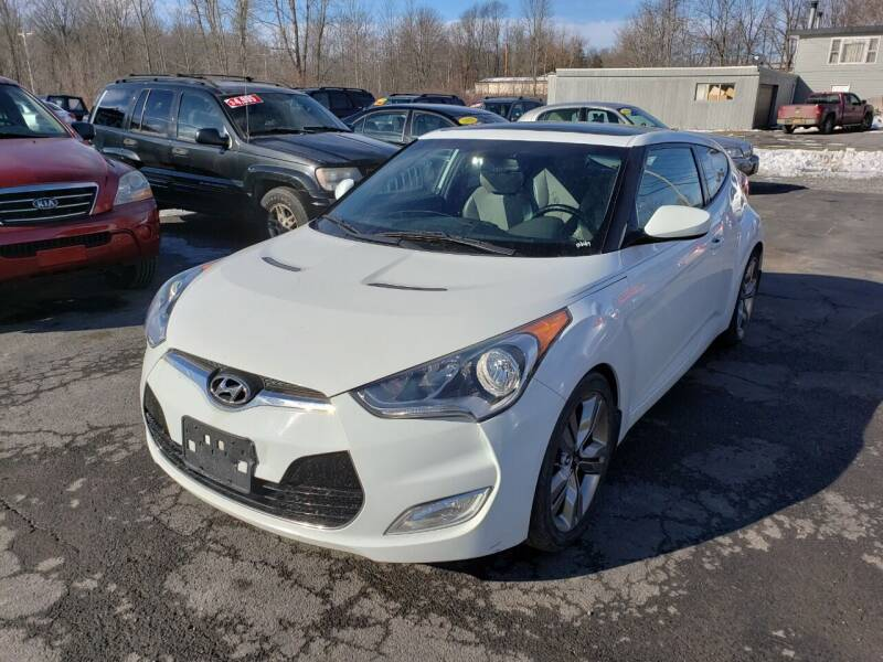 2012 Hyundai Veloster for sale at ROUTE 11 MOTOR SPORTS in Central Square NY
