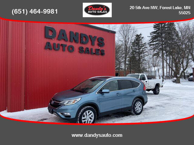 2016 Honda CR-V for sale at Dandy's Auto Sales in Forest Lake MN