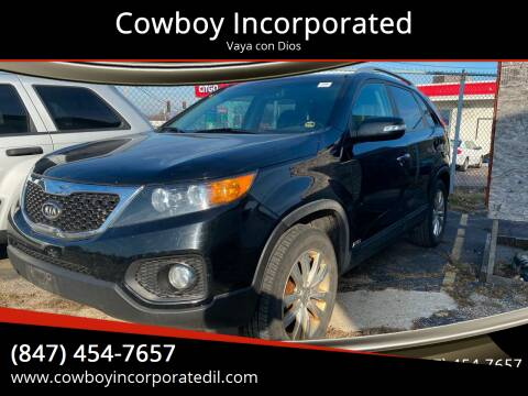 2011 Kia Sorento for sale at Cowboy Incorporated in Waukegan IL