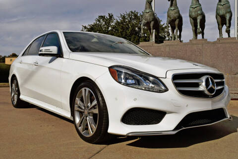 2016 Mercedes-Benz E-Class for sale at European Motor Cars LTD in Fort Worth TX
