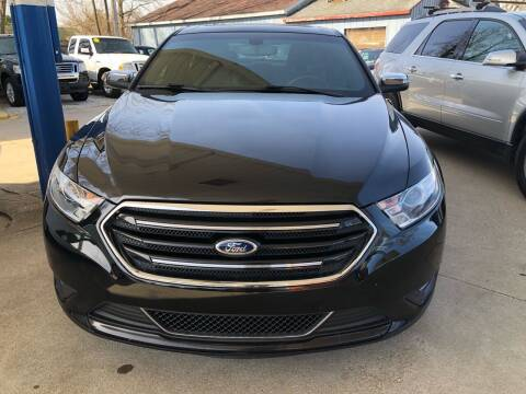 2013 Ford Taurus for sale at Ghazal Auto in Sturgis MI