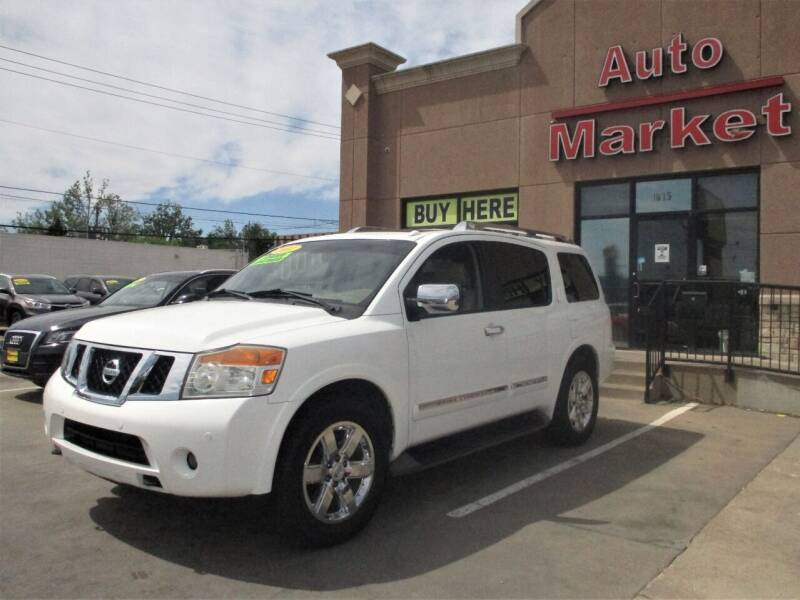 2011 Nissan Armada for sale in Oklahoma City, OK