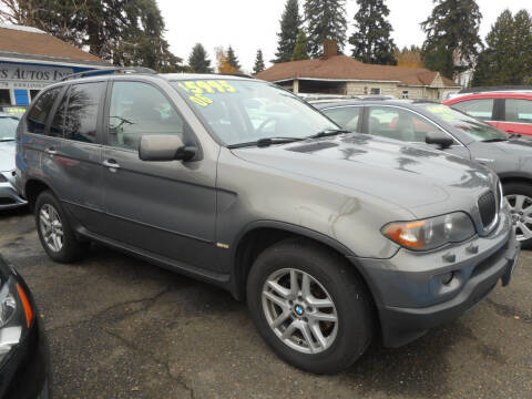 2006 BMW X5 for sale at Lino's Autos Inc in Vancouver WA