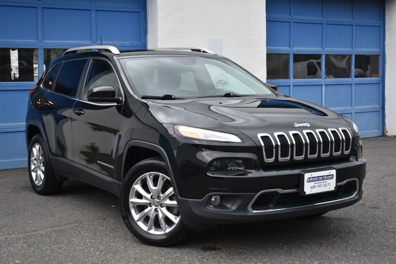 2017 Jeep Cherokee Limited 4×4 4dr SUV full