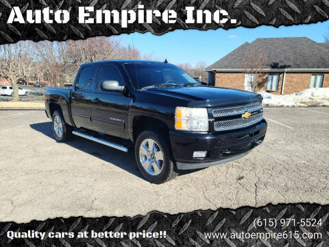 2013 Chevrolet Silverado 1500 for sale at Auto Empire Inc. in Murfreesboro TN
