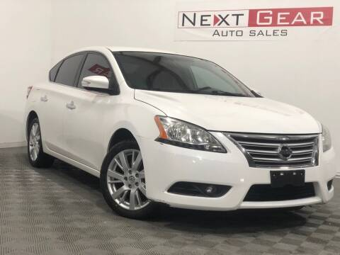 2013 Nissan Sentra for sale at Next Gear Auto Sales in Westfield IN