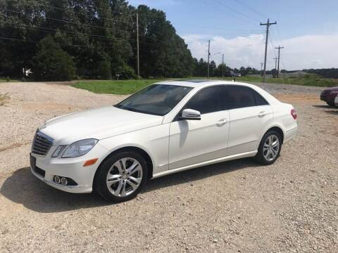 2011 Mercedes-Benz E-Class for sale at Delta Motors LLC in Jonesboro AR