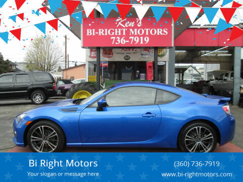 2013 Subaru BRZ for sale at Bi Right Motors in Centralia WA