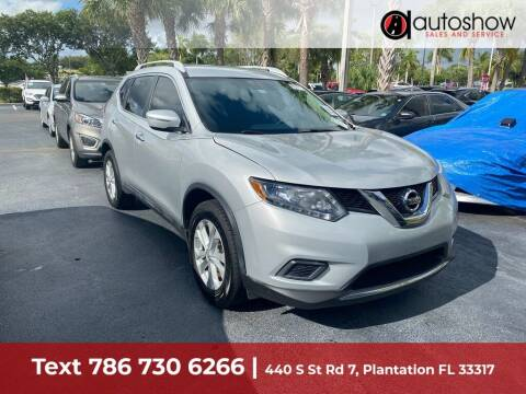 2015 Nissan Rogue for sale at AUTOSHOW SALES & SERVICE in Plantation FL