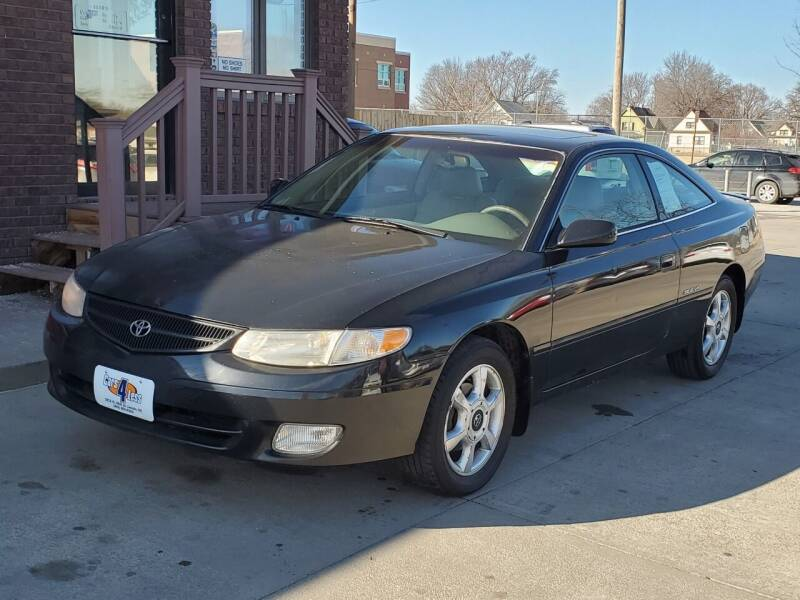 2000 Toyota Camry Solara for sale at CARS4LESS AUTO SALES in Lincoln NE