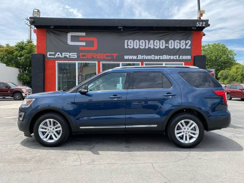 2016 Ford Explorer for sale at Cars Direct in Ontario CA