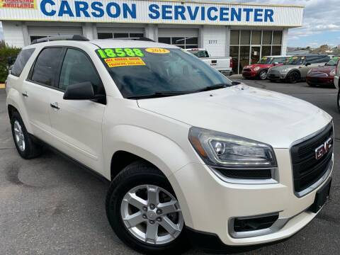 2014 GMC Acadia for sale at Carson Servicenter in Carson City NV