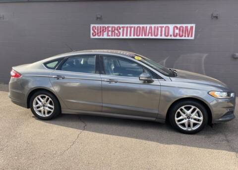 2013 Ford Fusion for sale at Superstition Auto in Mesa AZ