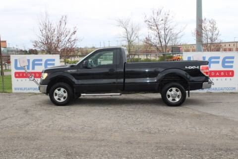 2012 Ford F-150 for sale at LIFE AFFORDABLE AUTO SALES in Columbus OH