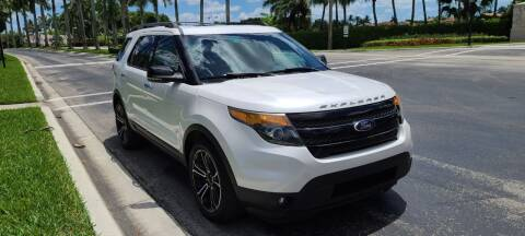 2013 Ford Explorer Sport for sale at ADVANCE AUTOMALL in Doral FL