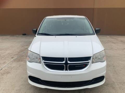 2014 Dodge Grand Caravan for sale at ALL STAR MOTORS INC in Houston TX