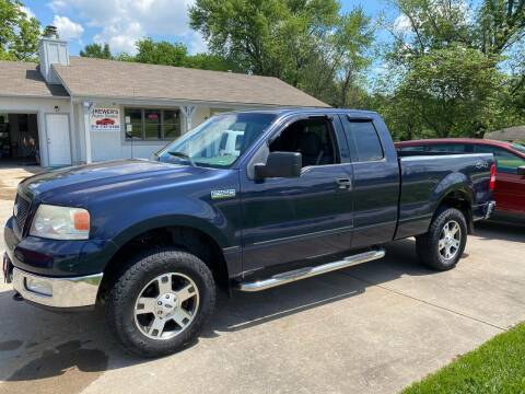 2004 Ford F-150 for sale at Brewer's Auto Sales in Greenwood MO