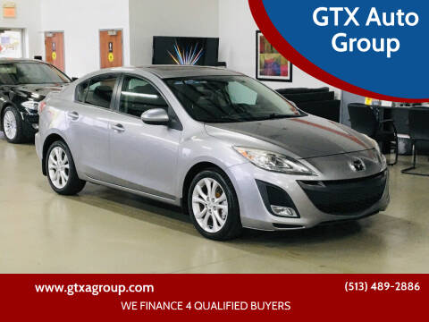 2010 Mazda MAZDA3 for sale at GTX Auto Group in West Chester OH