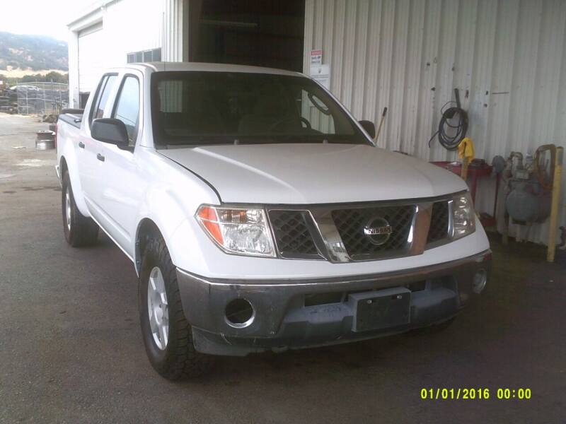 2007 Nissan Frontier for sale at Mendocino Auto Auction in Ukiah CA