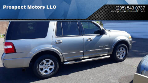 2008 Ford Expedition for sale at Prospect Motors LLC in Adamsville AL