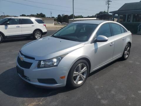 2013 Chevrolet Cruze for sale at Savannah Motor Co in Savannah TN