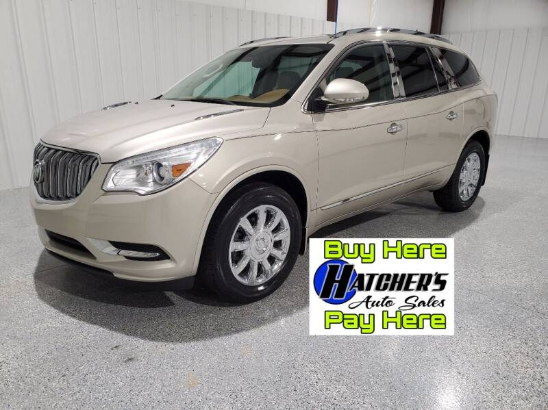 2015 Buick Enclave for sale at Hatcher's Auto Sales, LLC - Buy Here Pay Here in Campbellsville KY