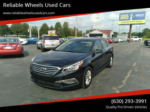 2015 Hyundai Sonata for sale at Reliable Wheels Used Cars in West Chicago IL