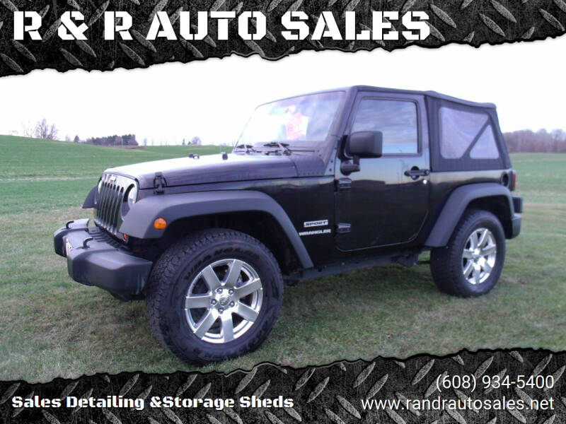 2011 Jeep Wrangler for sale at R & R AUTO SALES in Juda WI