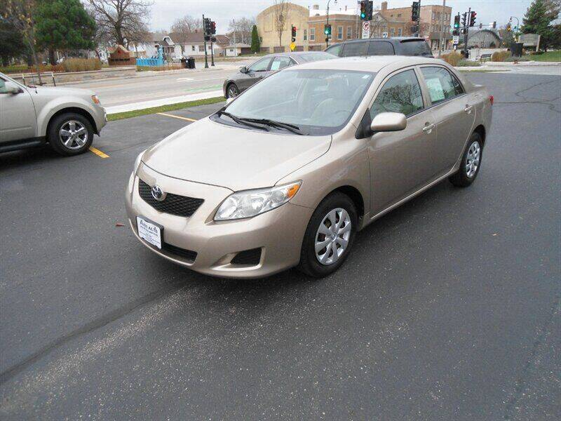 2009 Toyota Corolla for sale at FLEET AUTO SALES & SVC in West Allis WI