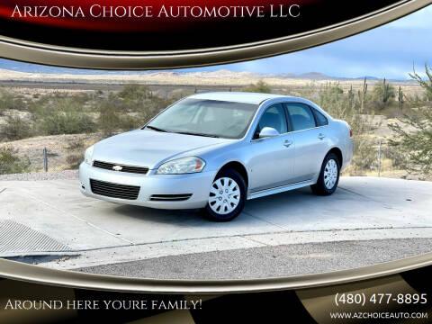 2010 Chevrolet Impala for sale at Arizona Choice Automotive LLC in Mesa AZ