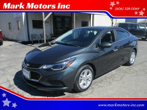 2018 Chevrolet Cruze for sale at Mark Motors Inc in Gray KY