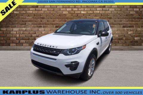 2016 Land Rover Discovery Sport for sale at Karplus Warehouse in Pacoima CA