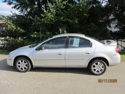 2005 Dodge Neon for sale at B & C Northwest Auto Sales in Olympia WA