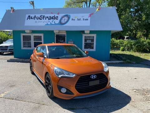 2014 Hyundai Veloster for sale at Autostrade in Indianapolis IN