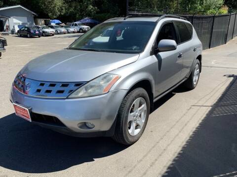 2003 Nissan Murano for sale at C&D Auto Sales Center in Kent WA
