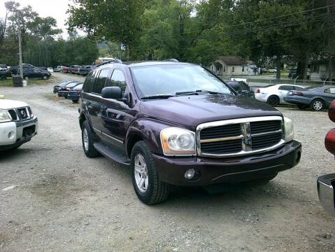 2004 Dodge Durango for sale at MICHAEL J'S AUTO SALES in Cleves OH