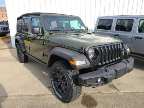 2021 Jeep Wrangler Unlimited for sale at LeMond's Chevrolet Chrysler in Fairfield IL