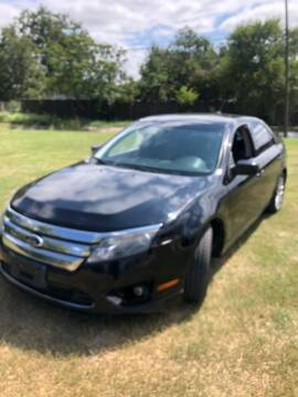 2012 Ford Fusion for sale at Carzready in San Antonio TX