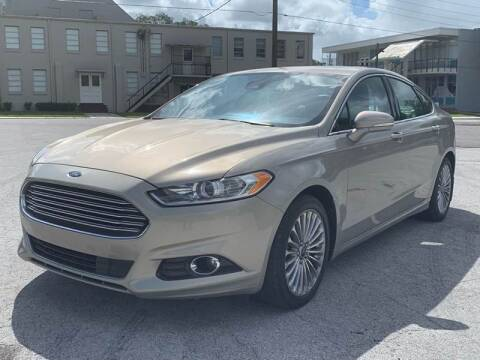 2015 Ford Fusion for sale at Consumer Auto Credit in Tampa FL