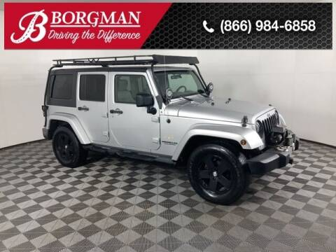 2009 Jeep Wrangler Unlimited for sale at BORGMAN OF HOLLAND LLC in Holland MI
