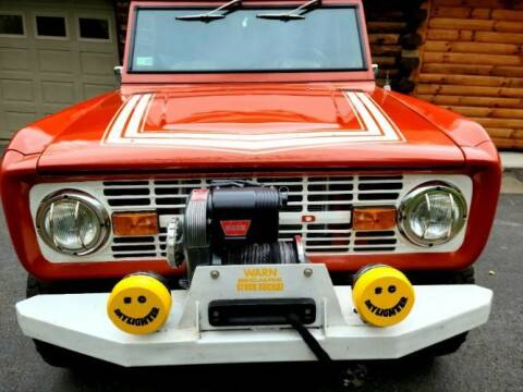 1976 Ford Bronco for sale at Classic Car Deals in Cadillac MI