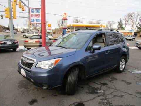 2014 Subaru Forester for sale at Premier Auto in Wheat Ridge CO