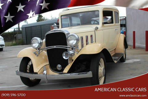 1932 Chevrolet CONFEDERATE for sale at American Classic Cars in La Verne CA