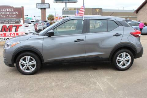 2020 Nissan Kicks for sale at AMT AUTO SALES LLC in Houston TX