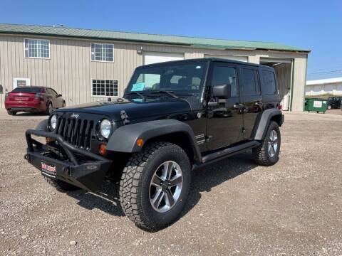 2011 Jeep Wrangler Unlimited for sale at Northern Car Brokers in Belle Fourche SD