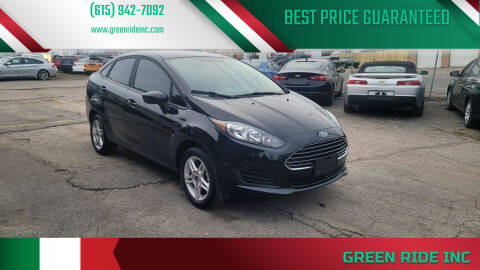 2018 Ford Fiesta for sale at Green Ride Inc in Nashville TN