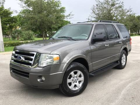 2010 Ford Expedition for sale at FIRST FLORIDA MOTOR SPORTS in Pompano Beach FL