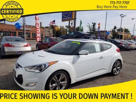 2013 Hyundai Veloster for sale at AutoBank in Chicago IL